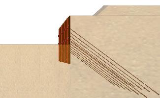 흙막이 구조물